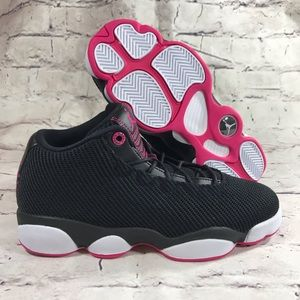 Jordan Horizon Low Black Pink White GS